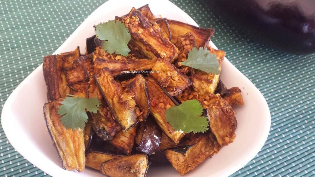 Air Fryer Eggplant  Baingan Fry