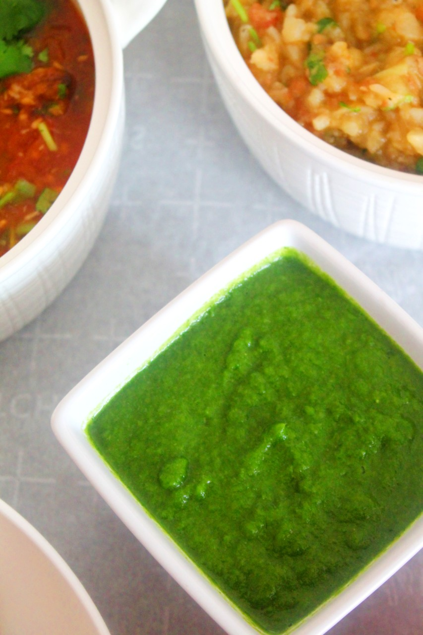 Green Garlic Cilantro Chutney