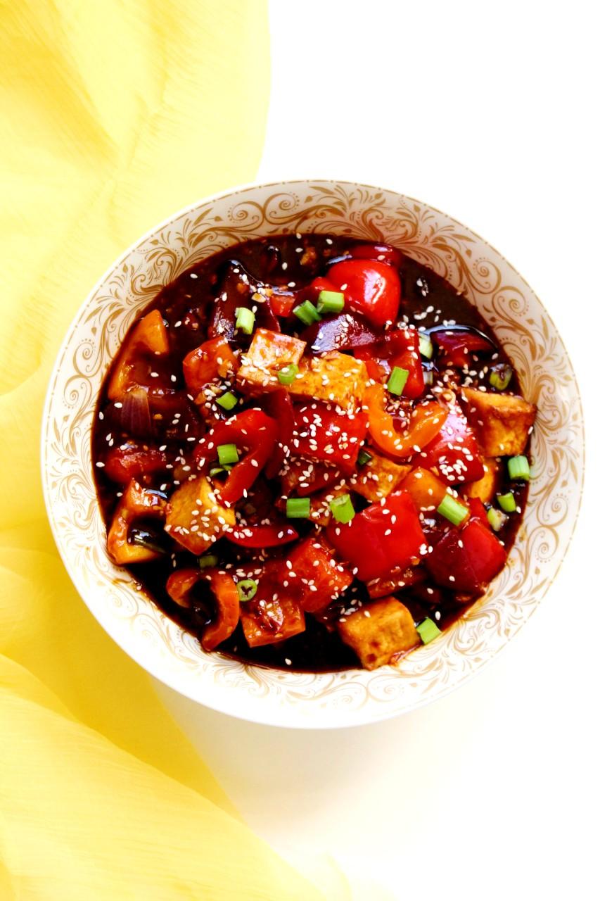 Chili Tofu – Instant Pot, Air Fryer, Stove Top