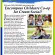 Encompass Friday Ice Cream Social Offers Valley Families Introduction to Valuable Childcare Co-op Program