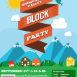If North Bend Can Throw One, Snoqualmie Can Too –  It's Block Party Time!