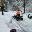Snow Saviors: North Bend neighbors spend days clearing streets the county snow plows won't