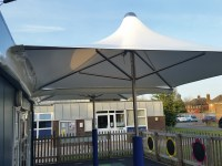 School Parasol, Shelter for Schools, Practical and Long ...