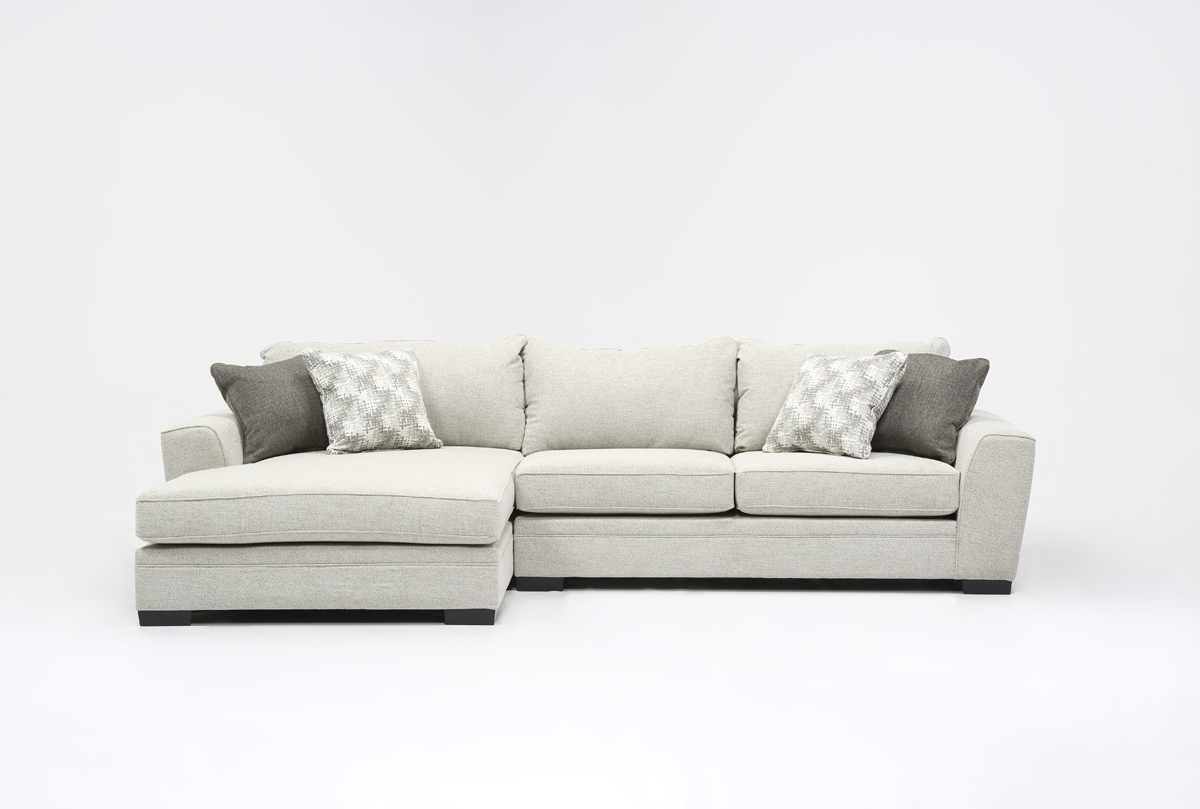 2 piece sectional sofa chaise gus jane review with shelter
