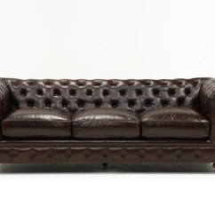 Tindall 96 Leather Sofa Cozy Edgemont Mansfield Inch Cocoa Living Spaces