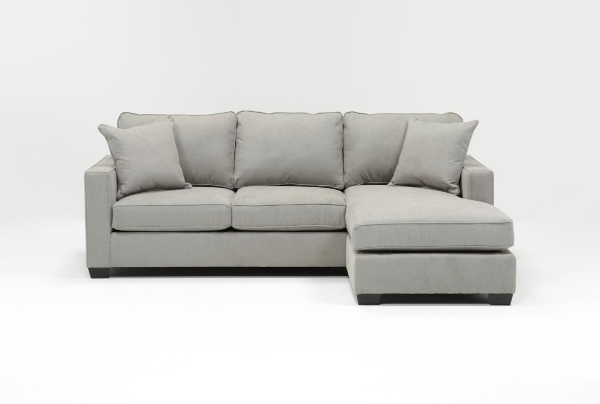 simmons reversible chaise sofa cleaning cloth sofas egan ii cement with living spaces 360