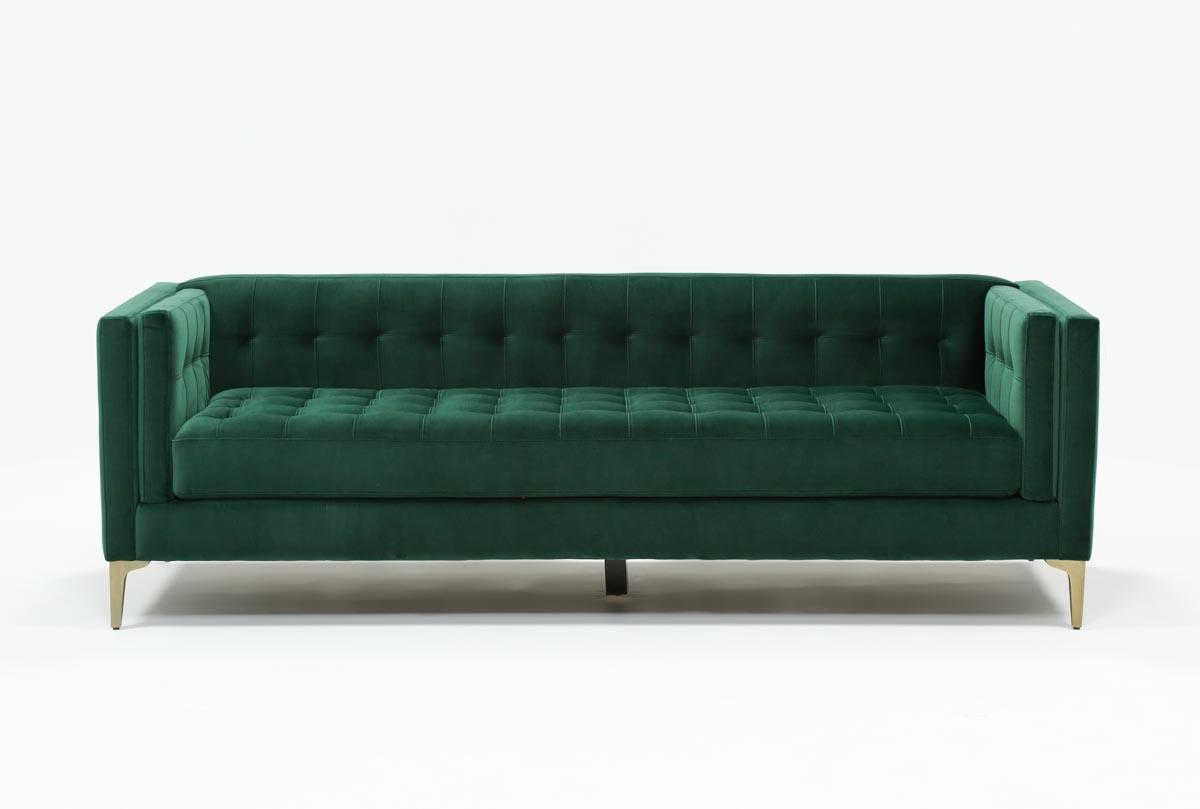 wesley sofa beige tufted toronto hall thesofa