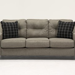 Loft Charcoal Sofa Bed Crochet Cover Brindon Queen Sleeper Living Spaces