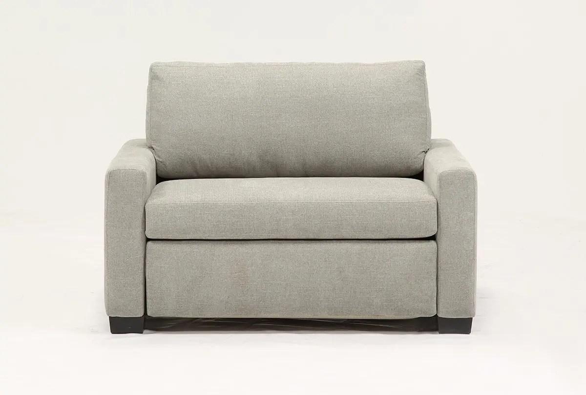 mackenzie sofa gold fabric silverpine twin sleeper living spaces