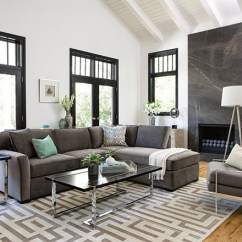 Transitional Style Living Room Paint Colors For Rooms 2017 Ideas Spaces With Aspen Sofa