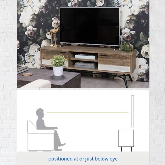 tv stand size guide