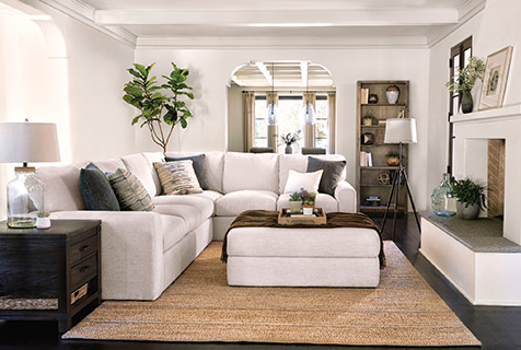 living room ottoman ideas sectionals buying guide spaces how ottomans have evolved over time