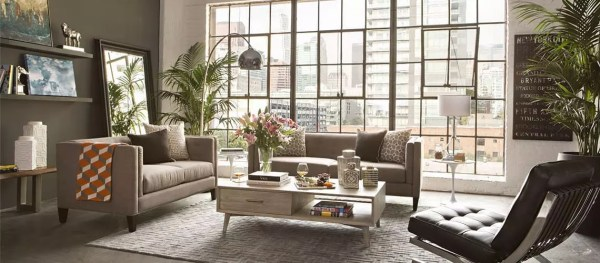 living room design trend 2019 10 Home Decor Trends that Will Be Big in Spring 2019 | Living Spaces
