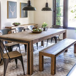 Small Living Room Table And Chairs Sears Furniture Canada Dining Ideas To Get Inspired Spaces Industrial With Amos Extension
