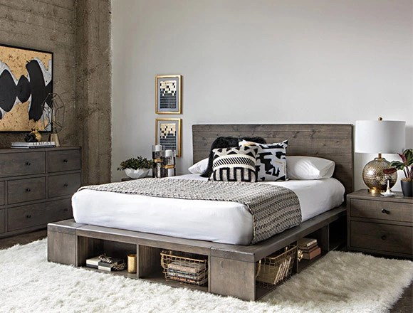 living room bed throw rugs bedroom ideas to fit your home decor spaces modern with dylan queen platform