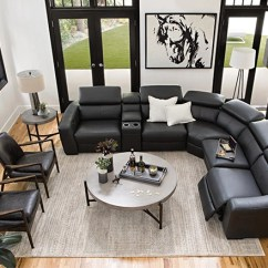 Modern Living Rooms Ideas Room Built In Shelves Decor Spaces With Kristen Slate Grey 6 Piece Power Reclining Sectional