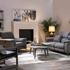 Ideas For Walls In Living Room Modern Country Decor Rooms Spaces With Talin Power Reclining Sofa W Usb