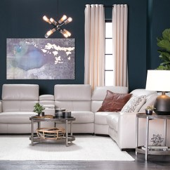 Furniture Ideas For Living Rooms Room With Dark Brown Couch Decor Spaces Transitional Kristen Silver Grey 6 Piece Power Reclining Sectional