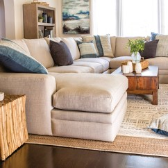 Coastal Living Sectional Sofa Target Com Table Boho Room With Glamour Ii | Spaces