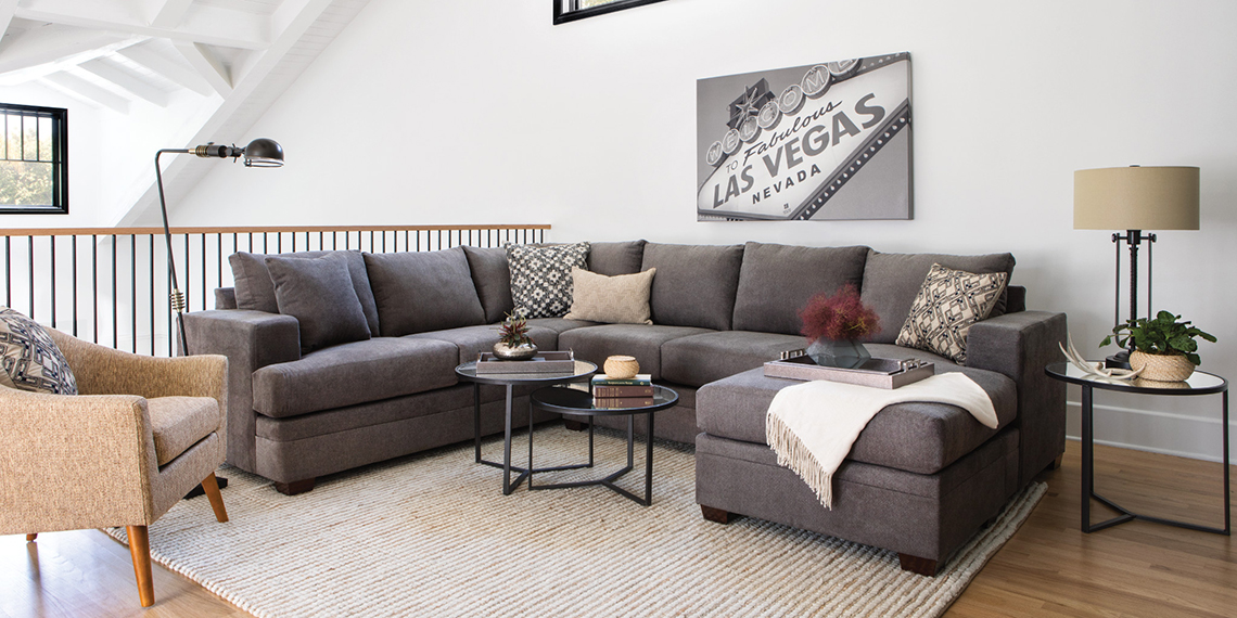 transitional living room furniture with sofa and four chairs fabric kerri spaces
