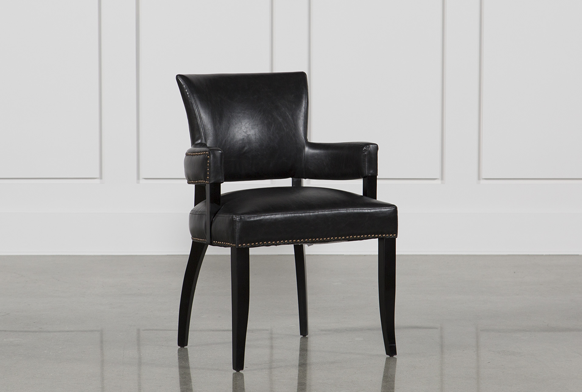 black white dining chair how to install rail molding with wainscoting kent living spaces