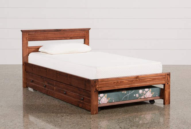 Added To Cart Sedona Twin Platform Bed With Trundle Mattress