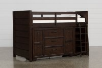 Elliot Twin Junior Storage Loft Bed | Living Spaces