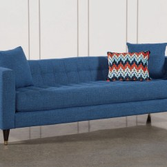 Electric Blue Velvet Sofa Microfiber Set Free Shipping Emil Wasabi Green Sofas Article Modern Mid