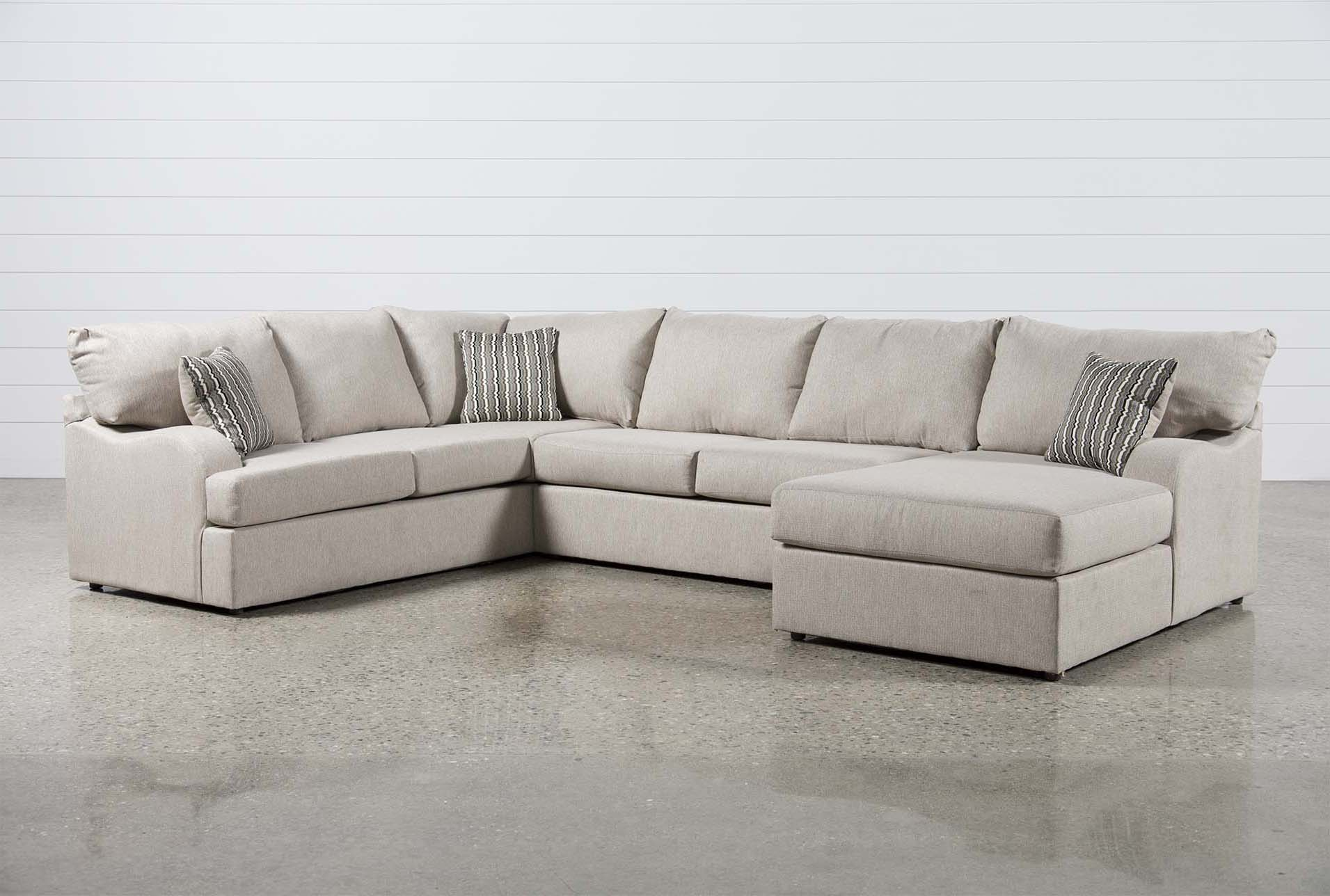 Meyer 3 Piece Sectional With Arm Facing Chaise
