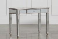 Hayworth Mirrored Vanity Desk | Living Spaces