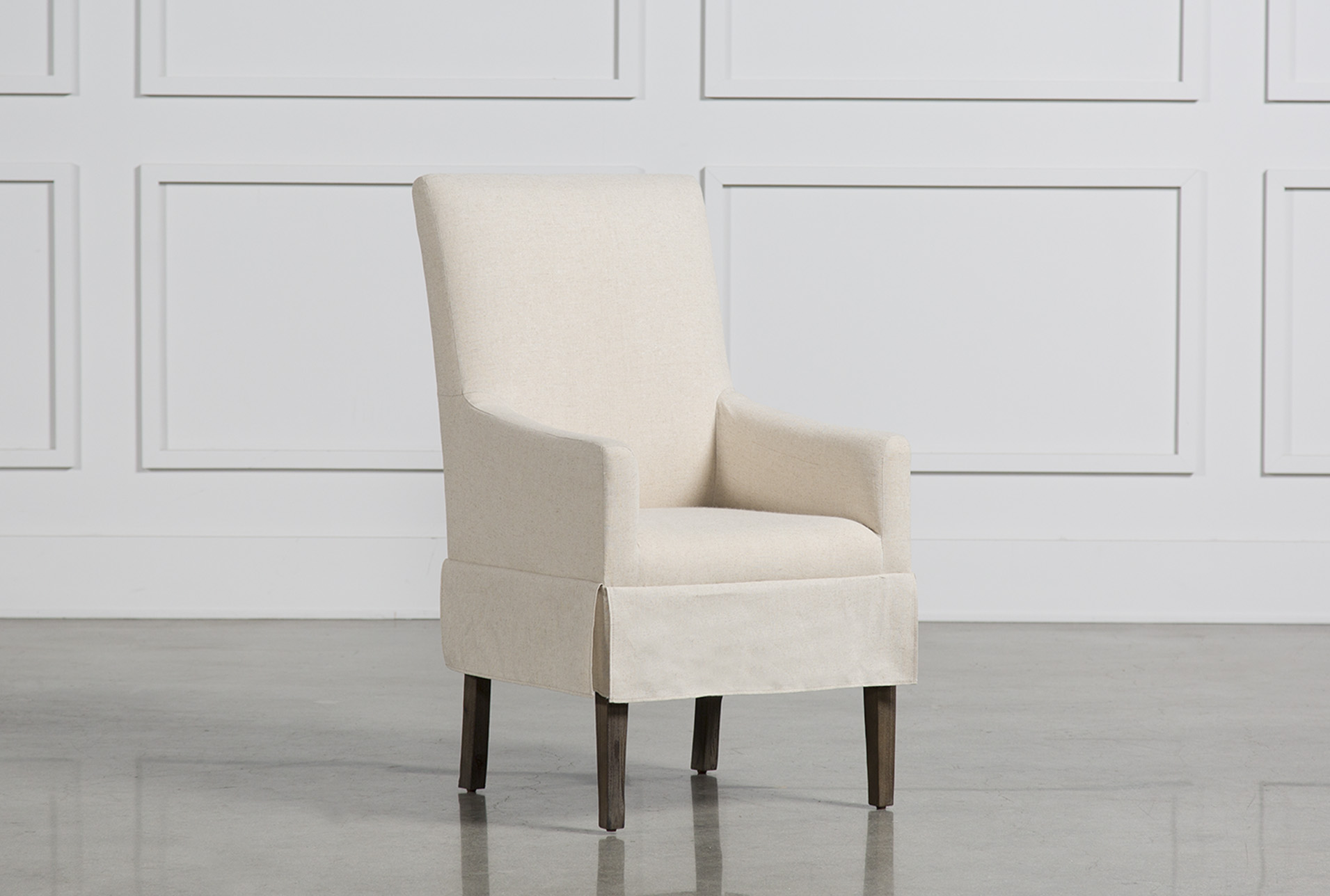 dining chairs with arms upholstered pub table 4 room to fit your home decor living spaces mindy slipcovered side chair