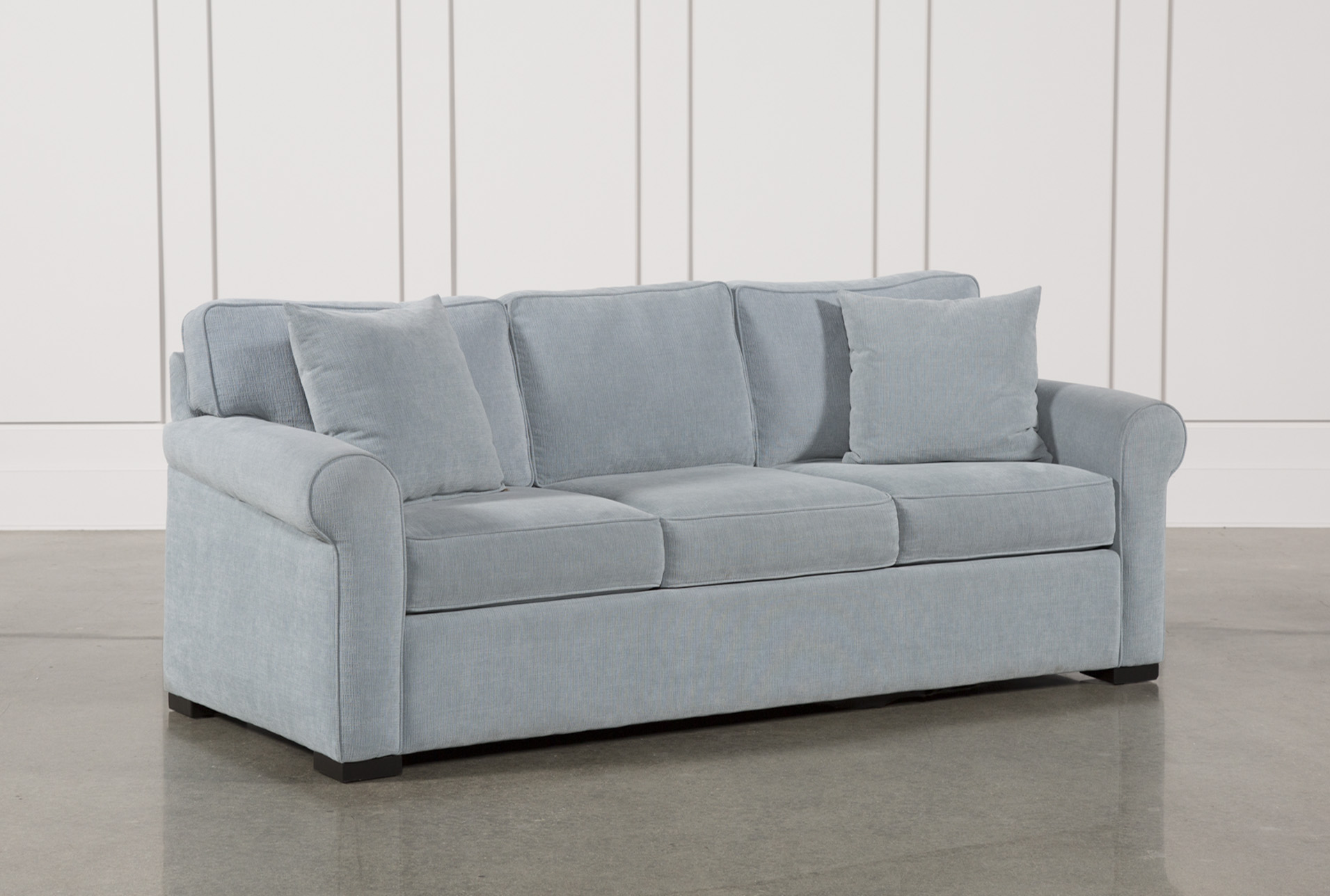 willow and hall sofa reviews wooden cushions in chennai slipcover only for modern slipcovered