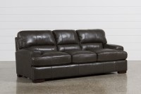 Andrew Leather Sofa | Living Spaces