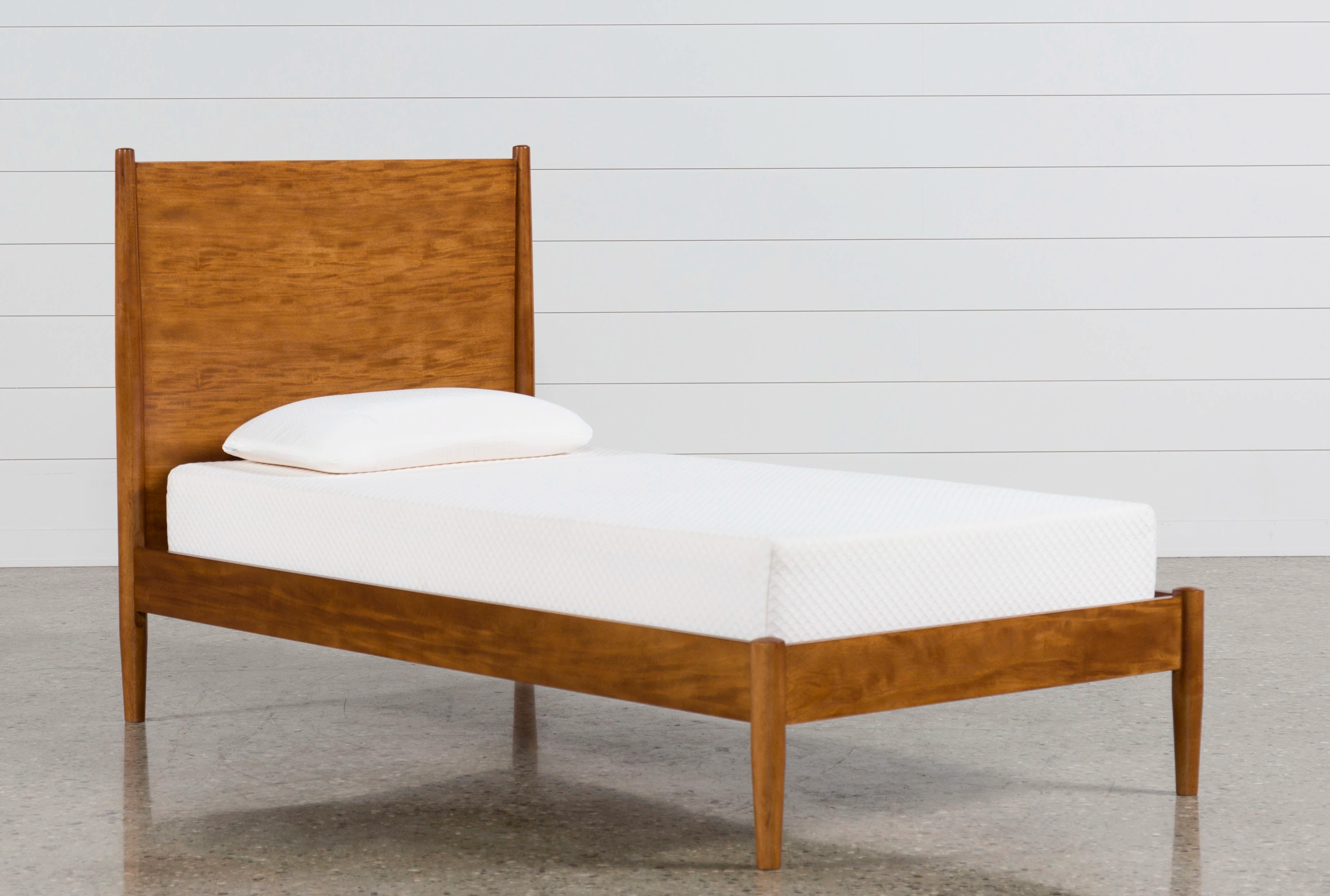 Alton Cherry Twin Platform Bed Qty 1 Has Been Successfully Added To Your Cart