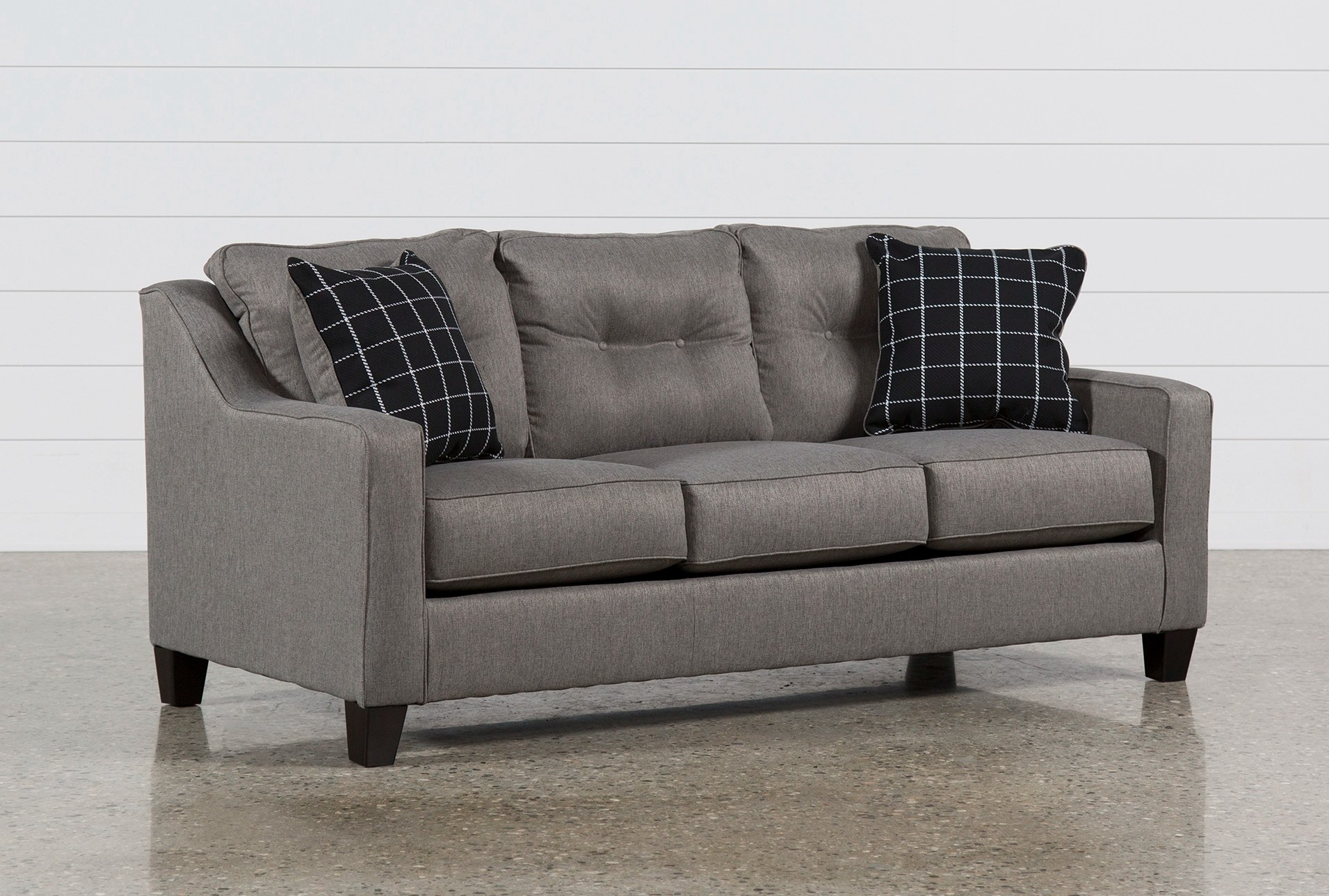 living es sofa inexpensive sectional sofas for small spaces queen sleeper brumbeck