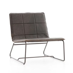Rialto Black Bonded Leather Chair Potterybarn Kids Ebony Waxed Lounge Living Spaces Large View