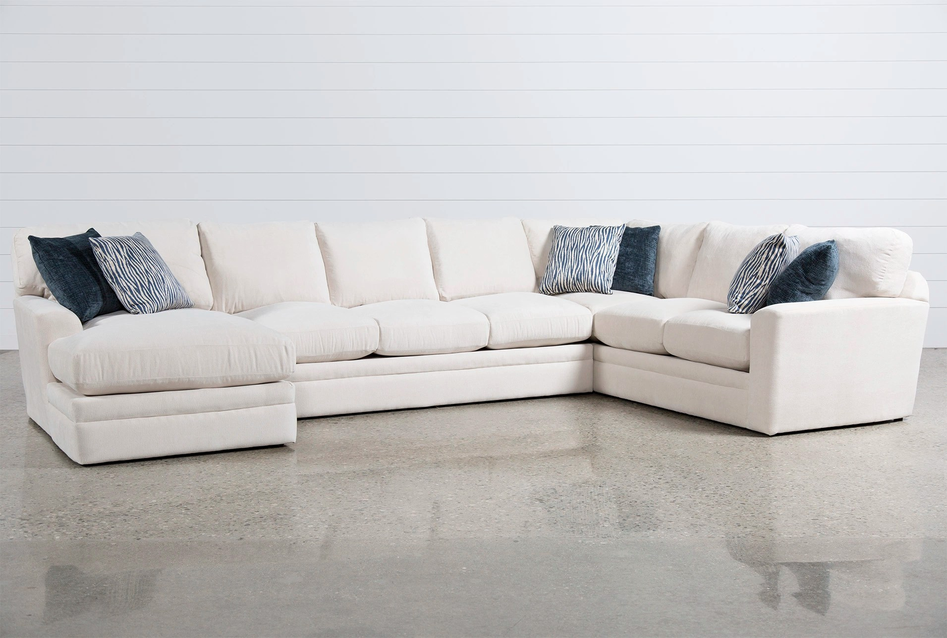 justin ii fabric reclining sectional sofa anese glamour roar rabbit velvet 60 west elm