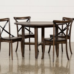 Round Dining Chairs Inexpensive Desk Chair No Wheels Grady 5 Piece Set Living Spaces Qty 1 Has Been Successfully Added To Your Cart