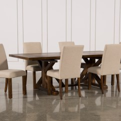 Fabric Side Chairs Heavy Duty Folding Chandler 7 Piece Extension Dining Set W Living Qty 1 Has Been Successfully Added To Your Cart