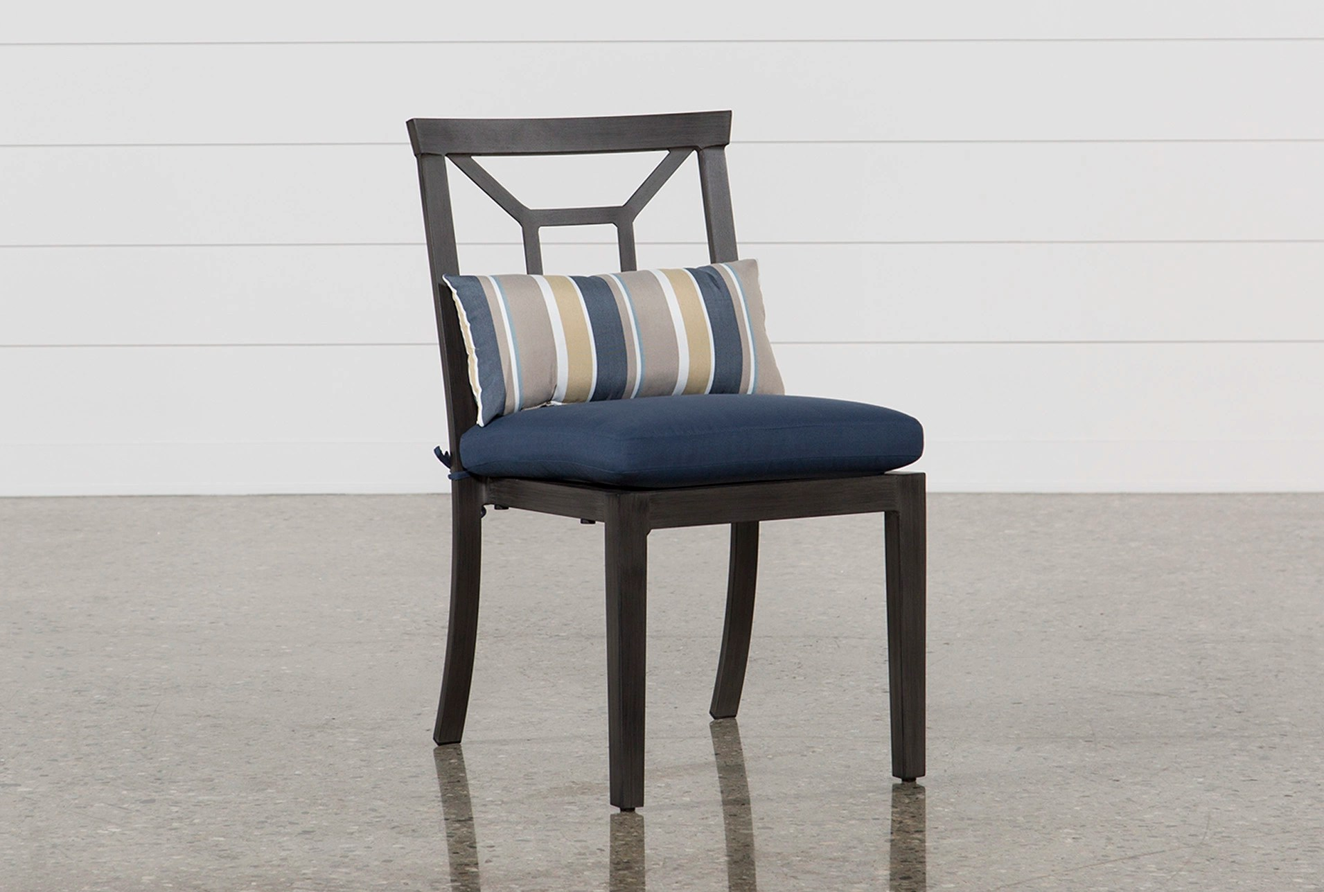 hight resolution of outdoor martinique navy dining chair qty 1 has been successfully added to your cart