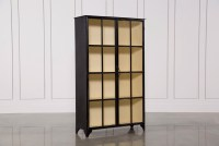 Vintage Tall Curio Cabinet | Living Spaces