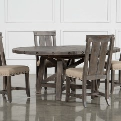 High Top Table Chair Set Pro Gaming Dining Room Sets Living Spaces Jaxon Grey 5 Piece Round Extension W Wood Chairs