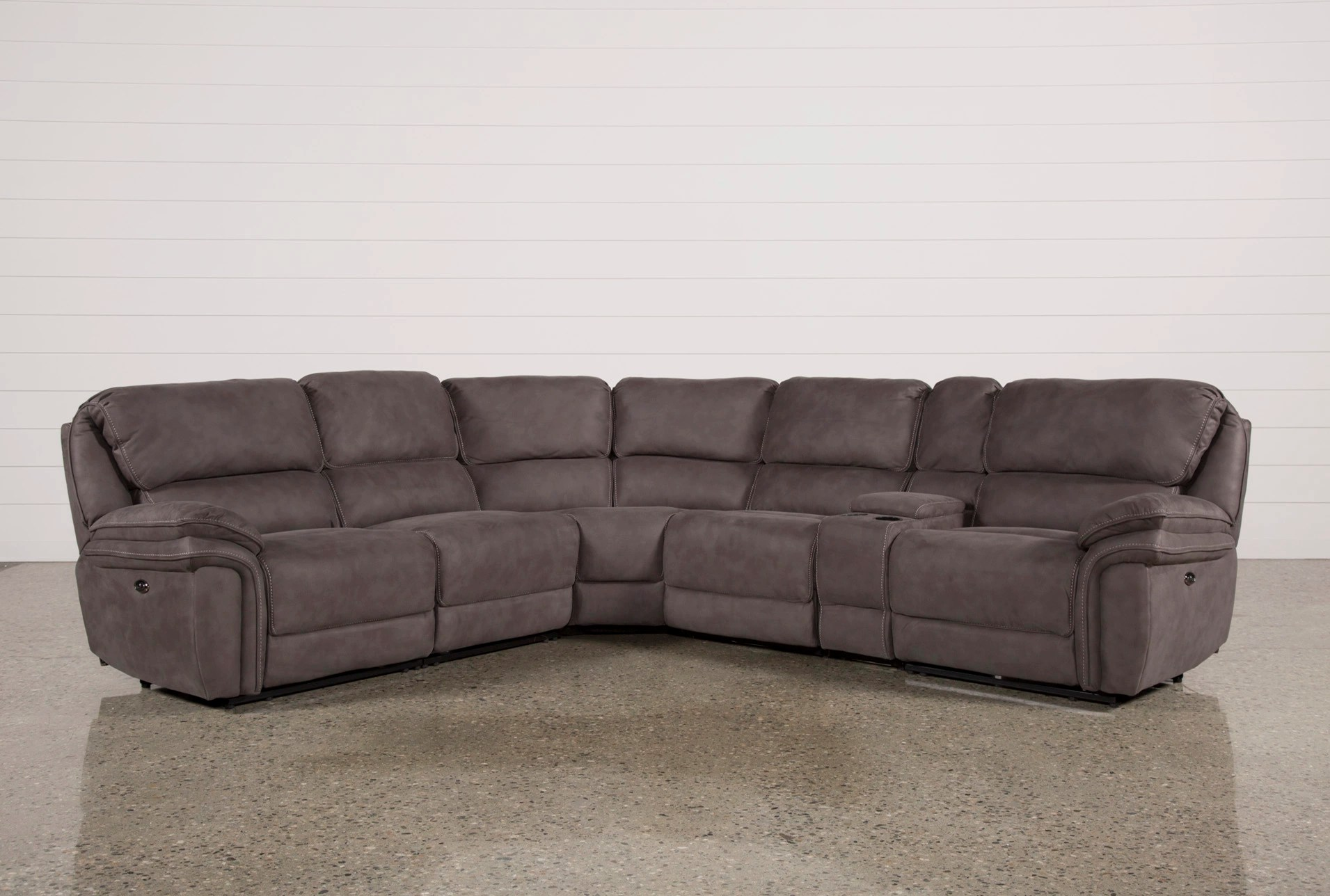 havertys newport sofa table apartment sized sofas norfolk grey 6 piece sectional living spaces added to cart