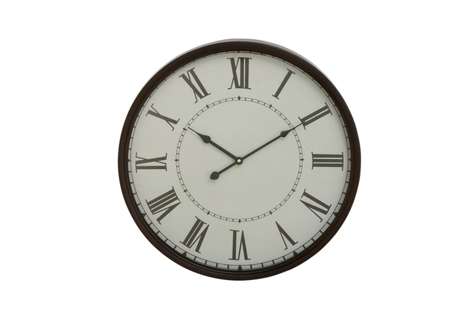 closeout living room furniture grey white and blue ideas 20 inch roman numeral wall clock | spaces