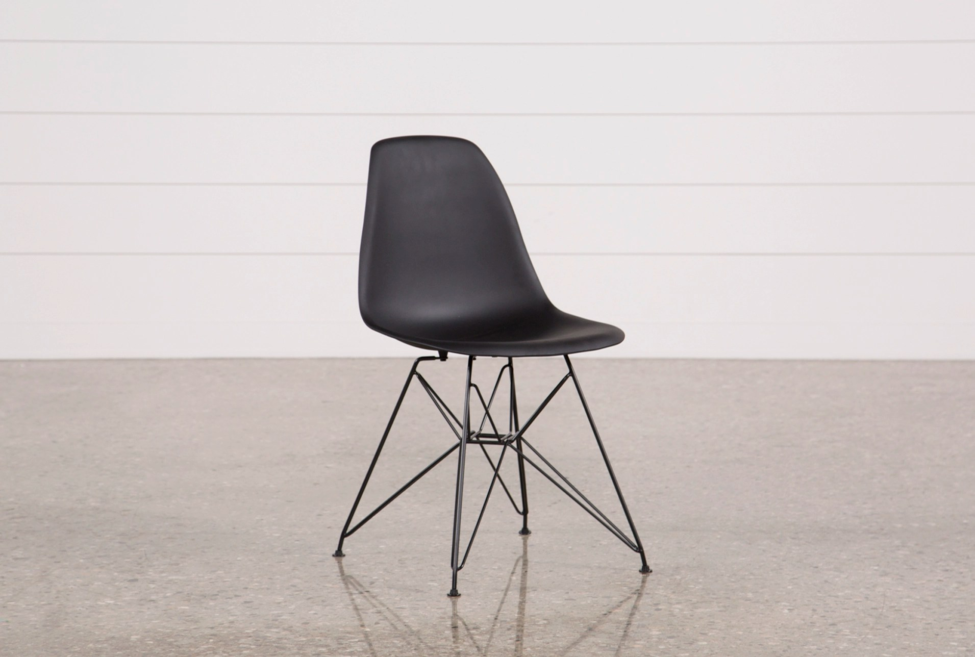 black side chair le corbusier chandigarh alexa living spaces