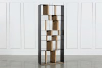 White Pine Steel Bookcase