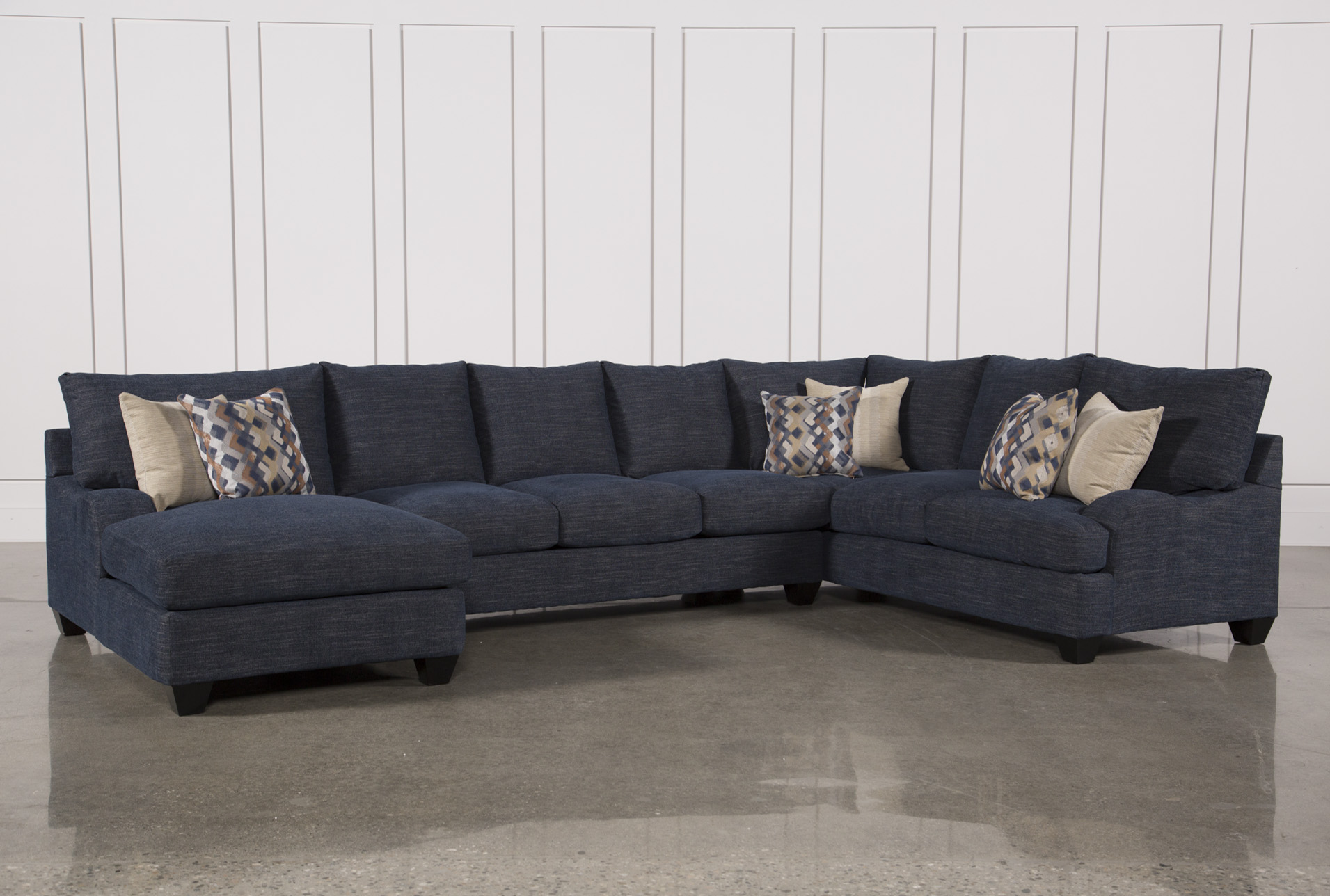 3 sided sectional sofa difference between couch and chair three piece sierra down w