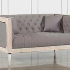 White Tufted Chair Pride Lift Parts Hand Control Oversized Grey With Wash Living Spaces Qty 1 Has Been Successfully Added To Your Cart