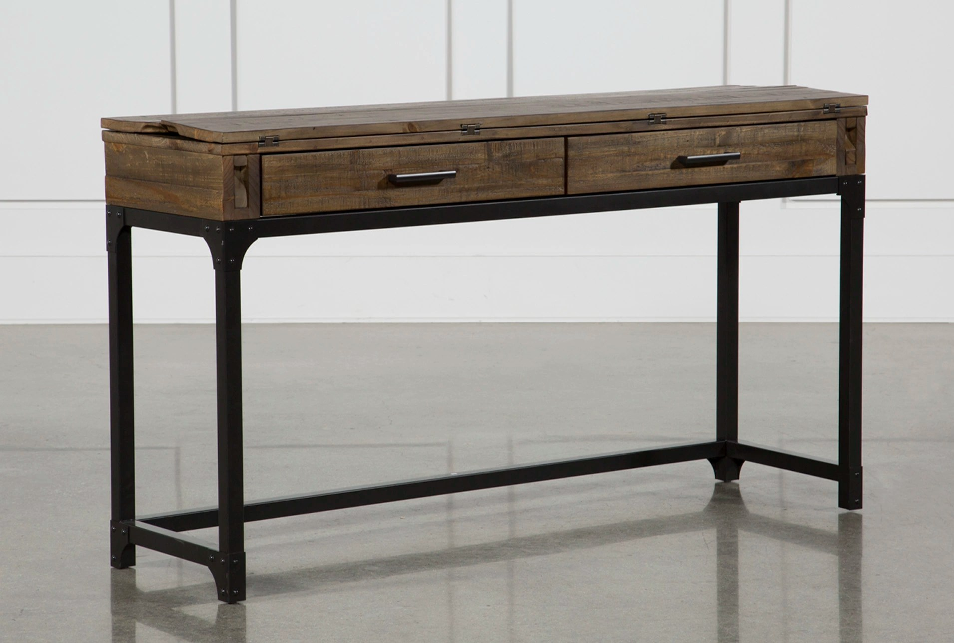 Foundry FlipTop Sofa Table  Living Spaces
