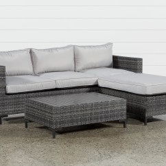 Sofa Lounger Outdoor Nyc Disposal Domingo Ii W Reversible Chaise Coffee Table Living Amp Qty 1 Has Been Successfully Added To Your Cart